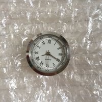 25mm Ultimo 2017 di buona qualità piccolo Mini argento bianco orologio romano inserto movimento cinese per i prodotti artigianali