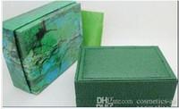 Boîtes de montre de luxe vertes avec boîte de montre d'origine