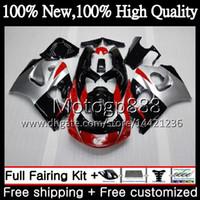 Corpo GSXR-600 Per SUZUKI SRAD GSXR600 GSXR750 96 97 98 99 00 5HM20 GSXR 600 750 Rosso GSX R750 1996 1997 1998 1999 2000 Carenatura Carrozzeria