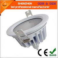 Dioda LED Przyciemniona Dimable New Design Wodoodporna LED Sufit Light IP65 Duchabalny biały kolor okrągły łódź LED
