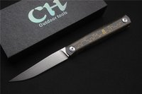 Free shipping, high quality ZIEBR knife, blade: ZDP- 189(Stone ...