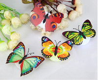 Butterfly LED Night Lights Wedding Party Room Decors lights ...