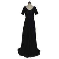 Robe De Soiree Sirene Uzun Custom Made Şifon Abiye 2018 Yeni Varış Örgün Balo Elbiseleri