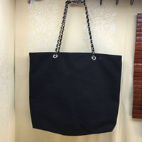 2017 NEW~VIP gift shopping Canvas Bag with chain luxury patt...