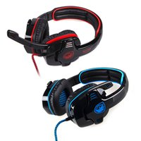 SADES SA901 Gaming Headset Professional 7.1 Surround Sound USB Game Auriculares con micrófono remoto para PC Laptop