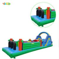 Atacado Preço Comercial Uso Inflável Bounce Casa Castelo Inflável Obstáculo Curso Para Adulto ou Crianças