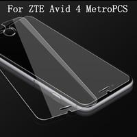 Ambalajlı Google Pixel 2 XL temperli cam Ekran Koruyucu için ZTE Avid 4 MetroPCS Tempo X N9137 Warp 8 N9517 için