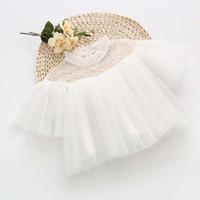 Девушки Топы Блузки Расточка Принцесса Короткие Рубашки Рубашки Платье Весна Белая Детская Одежда Детская Одежда C23542