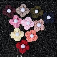 Moda squisita Four Leaf Clover Spille Handmade Long Style Spilla Pins Accessori uomo Moda gioielli decorazioni