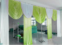 6m wide swags for backdrop valance wedding stylist backdrop ...