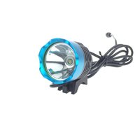 [2 بطاريات مدرجة] دراجة 2000 لومينز 3 وضع T6 LED أضواء الدراجة الخفيفة الشعلة الأمامية مصباح مقاوم للماء + بطارية حزمة + شاحن