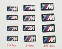 100 adet Tec Spor Tekerlek Rozeti 3D Amblem Sticker Çıkartmaları Logo Için bmw M Serisi M1 M3 M5 M6 X1 X3 X5 X6 E34 E36 E6 araba ...