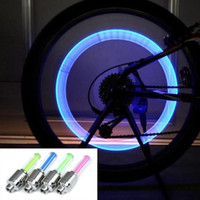 Bike Bicycle Wheel Lights decoration Wheel Tire Valve Cap Sp...