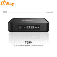 Amlogic S905X Android Smart TV T95M TV Box Android 6. 0 Strea...