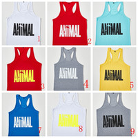 Hot Sale Brand GYM Animal Tank Tops For Men Bodybuilding Men...