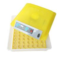 56 ägg fullopatierad äggvängningstemperaturkontroll Chick inkubator Fjäderfä Inkubator Chick Duckling Incubator Quail Hatch Equipment