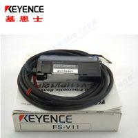 FS-V11 FSV11 Новые и оригинальные оптические усилители KEYENCE для оптоволоконных датчиков Высококачественные фотоэлектрические датчики