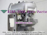 Новая TD04L GP14411-7T600 14411-7T600 49377-02600 14411 7T600 Turbo турбокомпрессор для Ниссан Навара измерений D22 пикап, 3.2 л QD32T QD32Ti