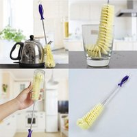 Long Handle Flexible Household Cleaning Brushes for Bottles ...