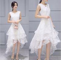 Высокое качество моделирования шелковая одежда летом высокое качество чистый белый бутон шелковое платье Платье оптом 2 xl мода женская выбор