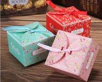 Свадебные сувениры коробки конфеты сумки подарочные коробки 3 цвета конфеты сумки новый торт коробки Оптовая подарочные коробки свадебные сувениры Бесплатная доставка