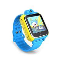 """Q10 GPS المقتفي ووتش 3G للأطفال SOS الطوارئ WCDMA كاميرا GPS LBS WIFI الموقع الذكية ساعة اليد Q730 شاشة تعمل باللمس 1.54 """""""