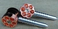 Pipe à balle avec tuyau en métal pour meuleuse à herbes deux fonctions six