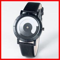 새로운 시계 웨이브 Anolog 시계 Non Anolog 시계 최고의 품질 여성 PU 가죽 손목 시계 캐주얼 드레스 Reloj 숙녀 골드 선물 패션 낭만주의