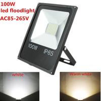 Il riflettore caldo di vendita 100W 50W 30W ha condotto il proiettore ha condotto il riflettore AC110V 220V proiettore esterno ha condotto la lampada