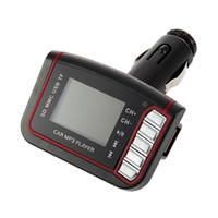 "1,44 ""LCD drahtloser FM Übermittler-Auto-MP3-Player usb coche TF-Karten-Antrieb Fernreproduktor mp3 Autoradio cd usb mp3"