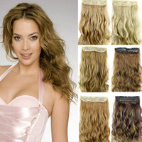 Z&F Hiqh Quality 5 Clip In Hair Extensions Curly Hair Extens...