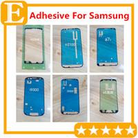 LCD Dokunmatik Ekran Çerçevesi Yapıştırıcı Onarım Bandı Çerçeve Tutkal için Samsung Galaxy S3 S4 S5 mini S6 kenar artı S7 kenar Not 5