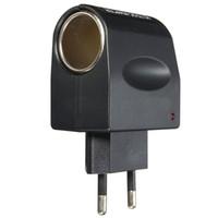 Universal 220V AC Wall Power to 12V DC Car Cigarette Lighter Adapter Converter