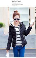 Nuovi modelli femminili Cappotto sportivo Plus Velvet Piumino Donne Giacca da donna Giacca con cappuccio caldo rimovibile Slim Puffer Outwear