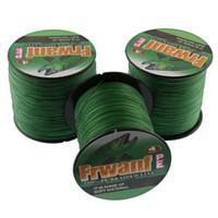 Frwanf super pe плетеная леска лучшие рыболовные снасти интернет-магазин 500M рыболовные инструменты оптом 6-100LB 4x толщина рыбалки