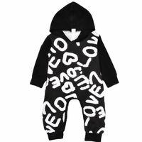 eda2a68c4ca Wholesale watermelon rompers jumpsuit online - Love Letters Rompers  Jumpsuits New Kids Clothing Sets Winter Autumn