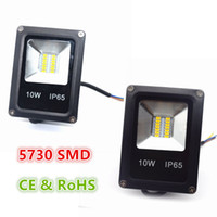 Mini 10W 5730 SMD LED Flood Light Waterproof IP65 AC 85-265V Floodlight Landscape Lighting Warm White/ Cold White High Luminous Efficiency