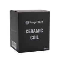 Kanger Cerâmica SSOCC Atomizador Cabeça 0.5ohm Kangertech Bobina De Cerâmica SSOCC Para Toptank Mini Topbox Mini Subvod Nebox 100% Original