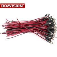 100pcs CCTV Security Camera Power Pigtail female Cable DC po...