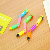 Südkoreas neue kreative machte unsichtbare Kugelschreiber Licht Flash Banknote Stift glatte Schrift