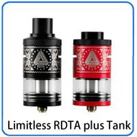Limitless RDTA Plus 6.3ml Big Capacidade Atomizador Tanque Melhor Correspondência com Limitless Caixa Mod Ijoy vaporizador 0266096-1