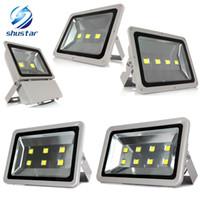 DHL наружное освещение 100W 150W 200W 300W 400W светодиодный прожектор AC85-265V наводнение водонепроницаемый внешний светодиодный отражатель