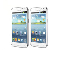 Remodelado Samsung Galaxy Win I8552 celular 4.7 polegadas 1G / 4G Quad core 5.0MP Câmera Dual SIM Android 4.1 telefone desbloqueado