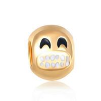 Charme für DIY Frauen Schlange Pandora Armband Liebe Perlen europäischen runden Gold Charms Armbänder Schmuck machen DIY handgemacht