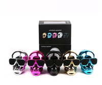 2017 new Fashion Metal KL skull head ghost head wireless Blu...