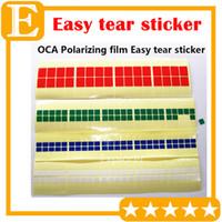 500PCS Los OCA Adhensive Polarisationsfolie Tear Tape Schutzfolie Renovieren Normal Viskosität PULL TAPE Easy Tear Aufkleber Neu für LCD-Bildschirm