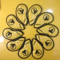 Honma BERES golf iron cover golf club iron set 10 pcs gold a...