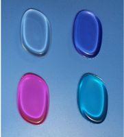 100 قطع 4 ألوان الوردي الأزرق سيليكون جل سيدة الوجه مؤسسة ماكياج التجميل النفخة أدوات التجميل لا الإسفنج مسحوق خلاط ل bb c