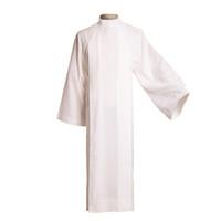 1pc Nieuwe Witte Heilige Clergy Alb Katholieke Kerk Aanbiedingsgewaad Vastgemaakt Kledingstuk Hoogwaardige Snelle verzending