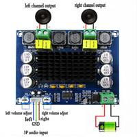 Freeshipping TPA3116D2 Dual-Channel Stereo High Power Digital Audio Power versterker Board 2 * 120w